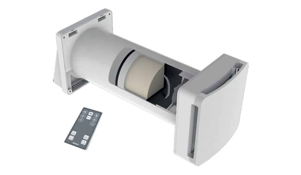 Come funziona un recuperatore di calore scambiatore di aria o scambiatore di calore, recupero di calore